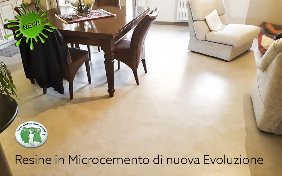 Arte nel Colore - Resine in Micro cemento di nuova Evoluzione
